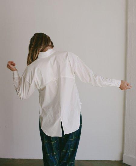 Suzanne Rae Button Down Shirt - White