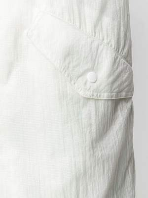 Men's HELMUT LANG Parachute Parka - white