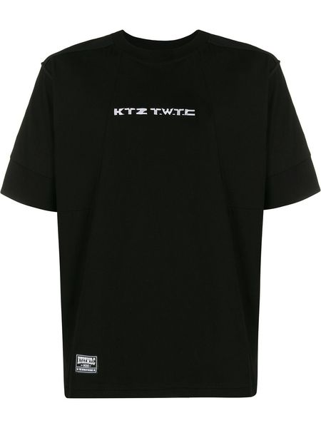 KTZ Kokon To Zai Embroidered Inside Out T-Shirt - Black
