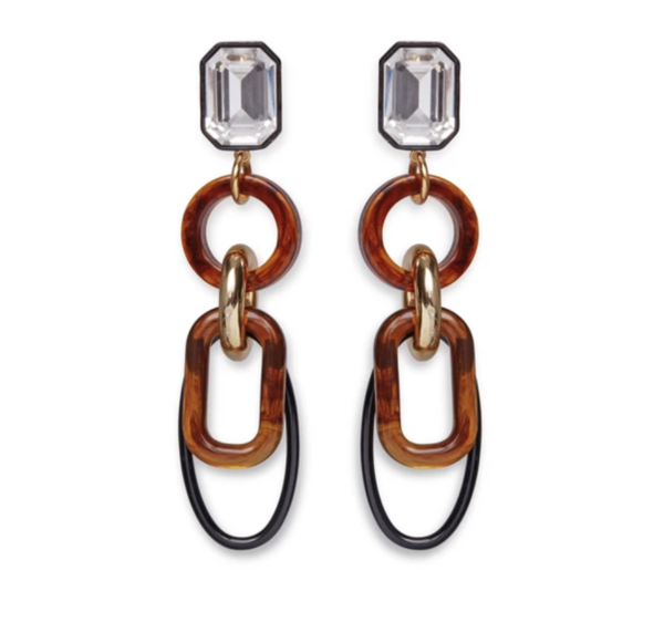 Lizzie Fortunato Fort Earrings - Amber
