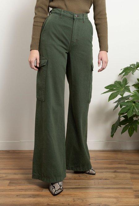 eTica Devon Wide Leg Pant - Olive