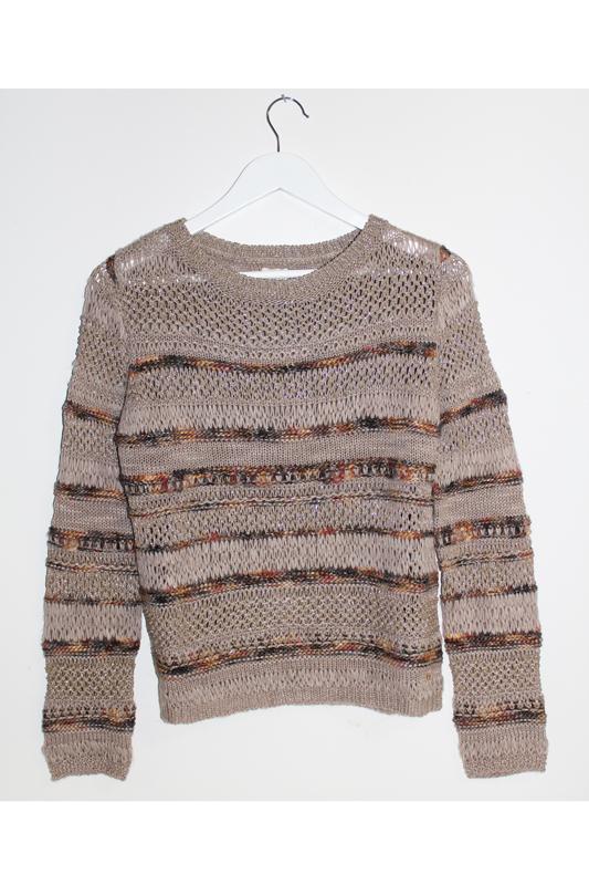 Des Petits Hauts Striped Pullover Sweater