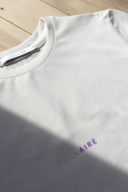 LOCLAIRE Solar Powered T-Shirt - Cloud