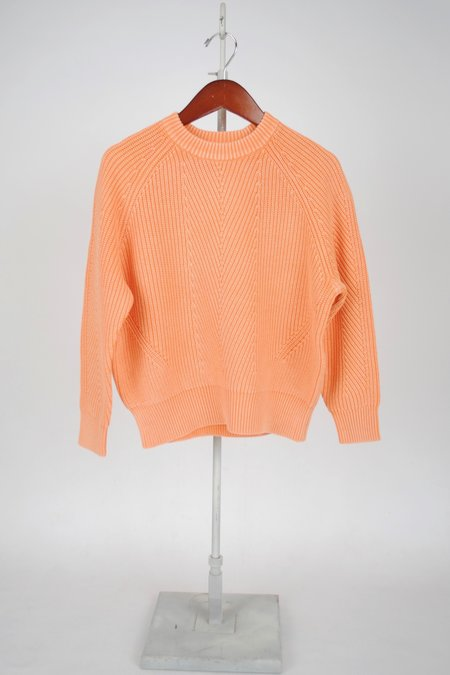 Demy Lee Cotton Chelsea Sweater - CANTALOUPE