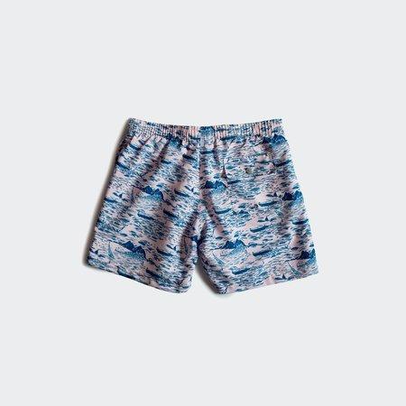 Bather Swim Shorts - Pink Motorboat