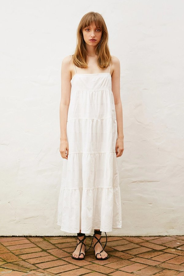BEFORE MARCH Ophelia dress - White