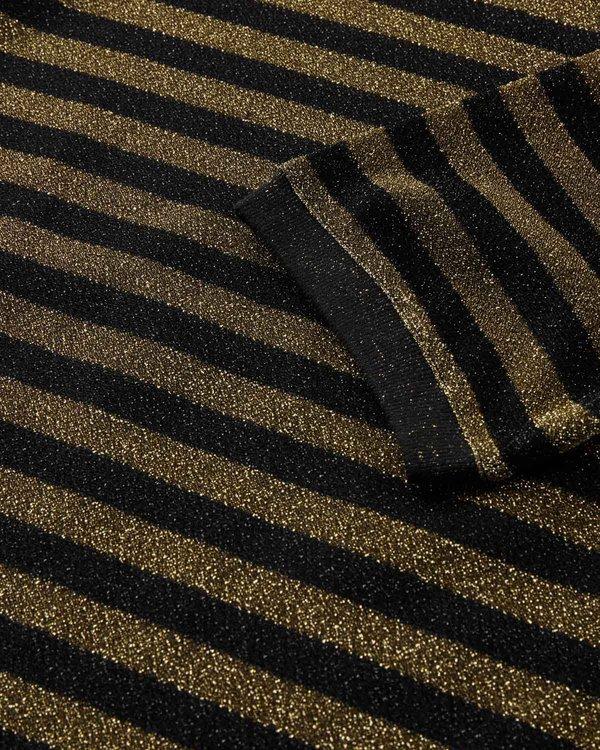 Minimum Ulrikka Striped Tee - Black Stripe