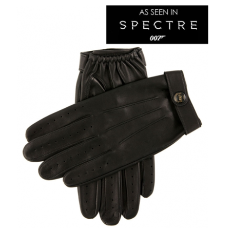 DENTS Fleming James Bond Spectre Leather Driving Gloves
