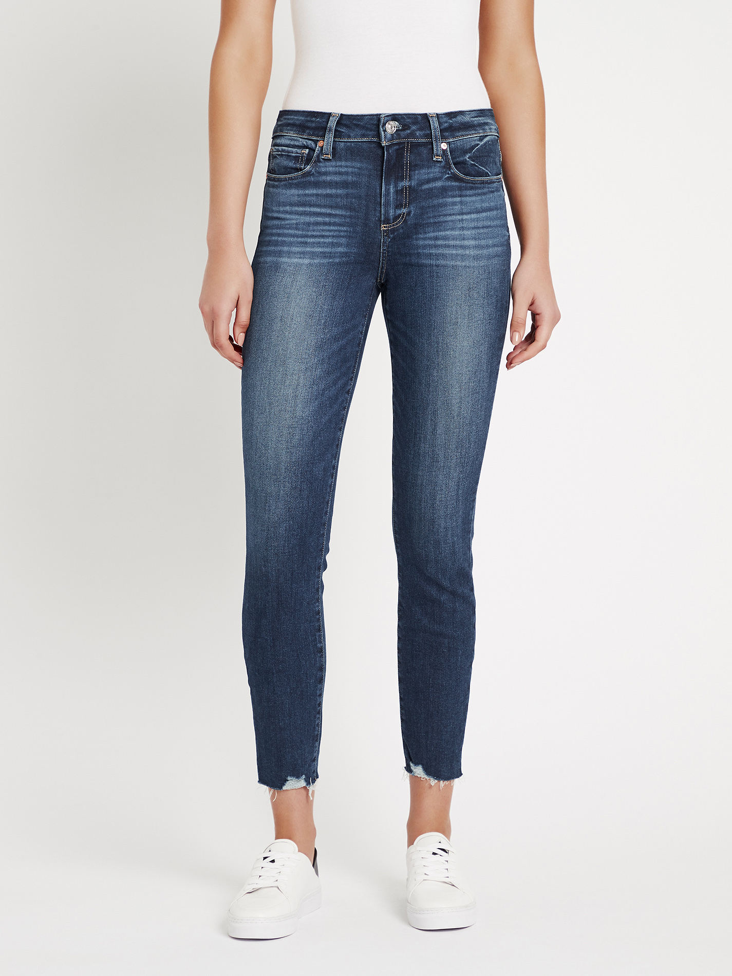 PAIGE Womens Verdugo Ankle Jeans