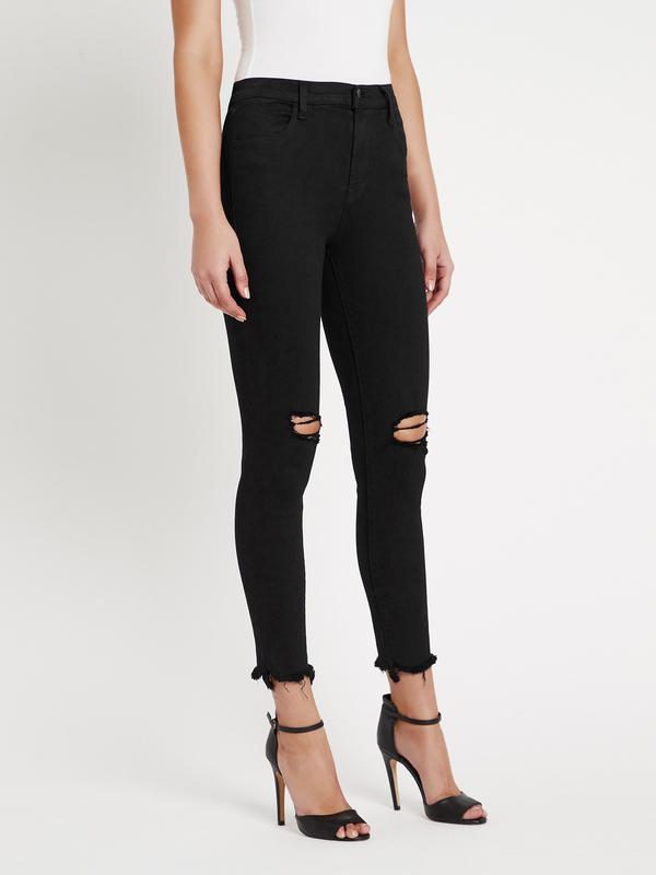 J Brand Alana High Rise Skinny Jean - black