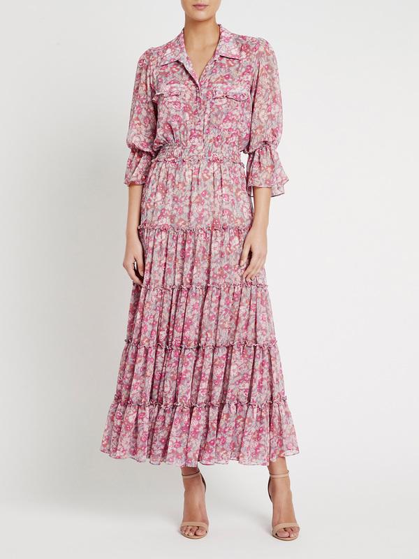 Misa Los Angeles Hermosa Dress - pink