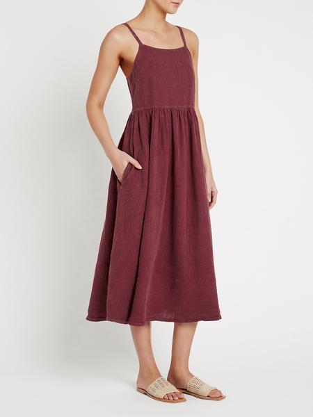 american vintage Zoriwell Midi Dress - red
