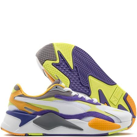 Puma RS-X3 Level Up Sneaker - White/Limepunch