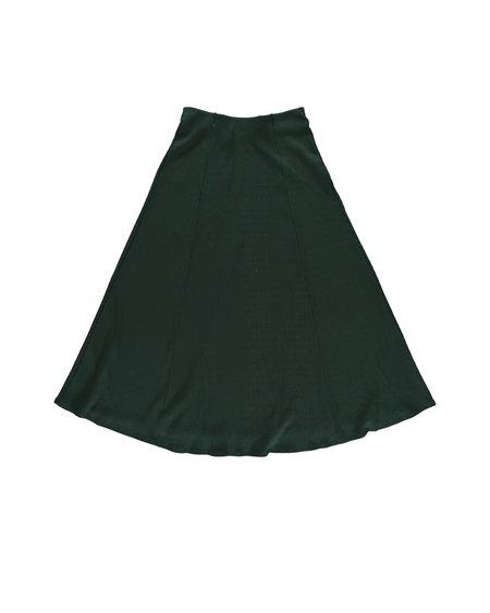 Thinking MU Rib Mae Scarab Skirt - Green