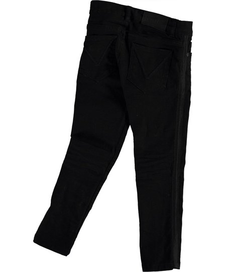 kids molo aksel slim fit jeans - black