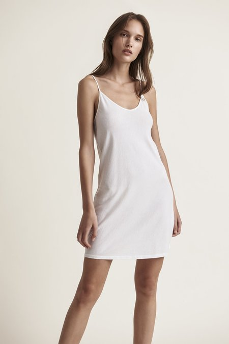 Skin Sexy Pima Cotton Slip - White
