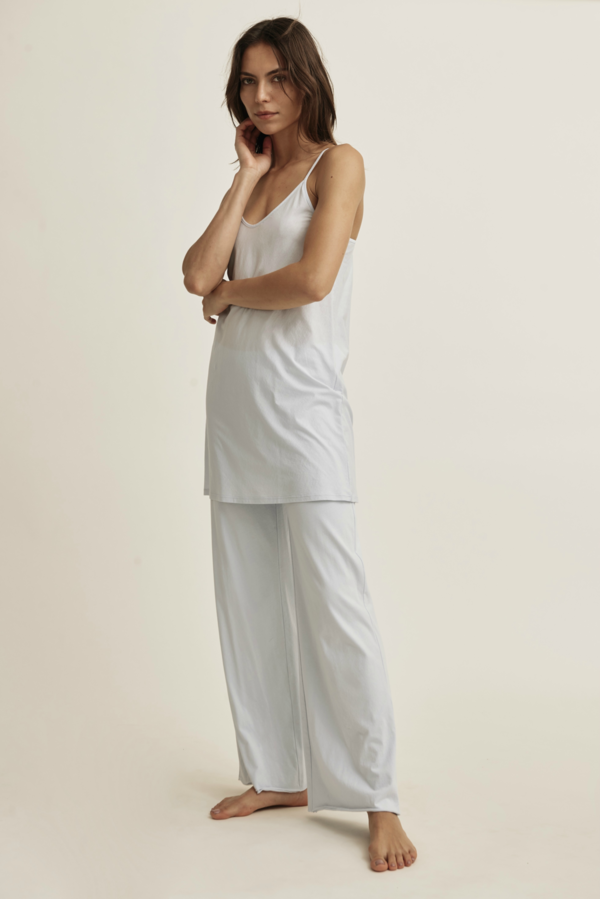 Skin Sexy Pima Cotton Slip - White