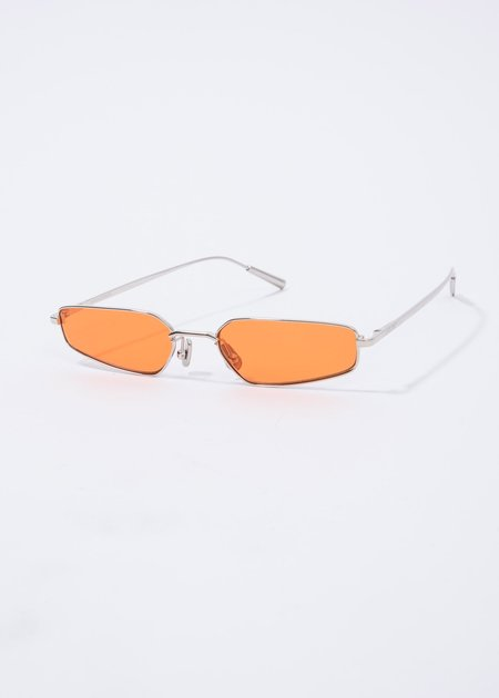Ambush Astra Sunglasses - Silver/Orange