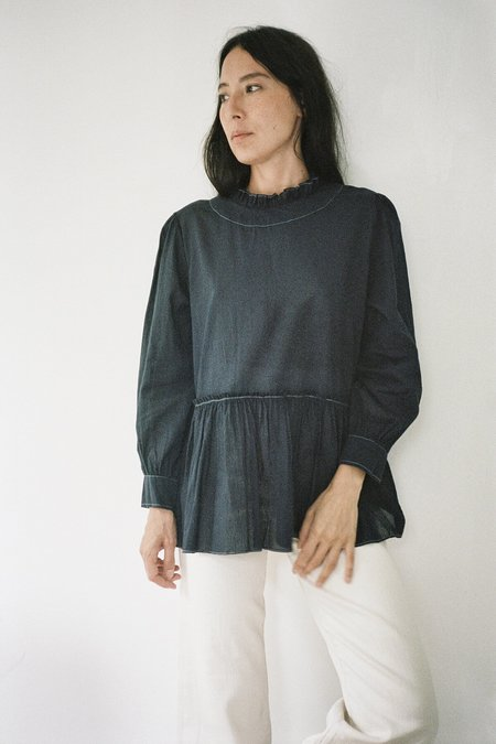Karu Poet Blouse - Midnight