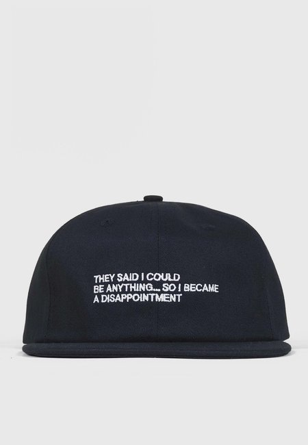Jungles Disappointment Cap - Black