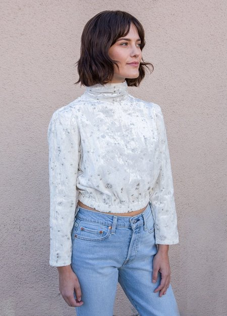 Samantha Pleet Moon Beam Blouse - White