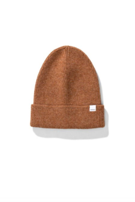 Norse Projects Norse Lambswool Beanie - Camel