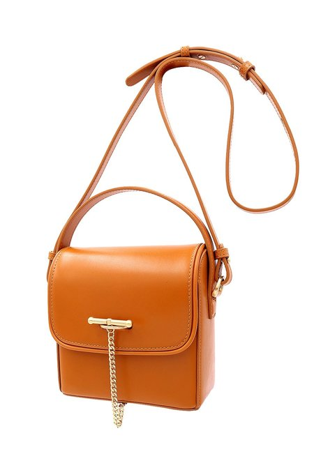SANCIA Maeve Mini Bag - Cognac