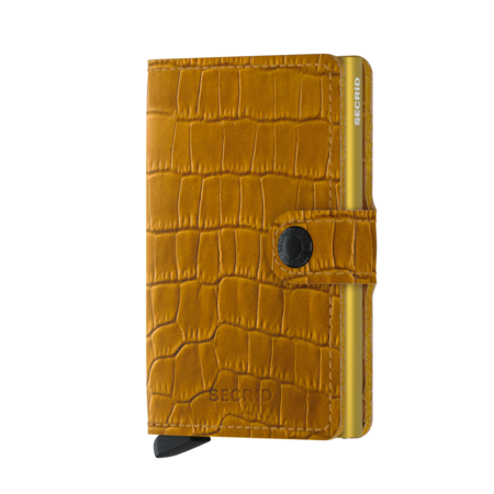 Secrid Cleo Mini Wallet - Ochre