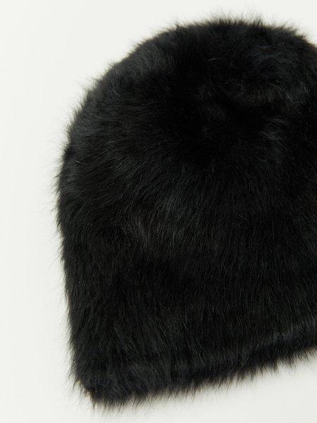 Reinhard Plank Cuffia Short Beanie - Black