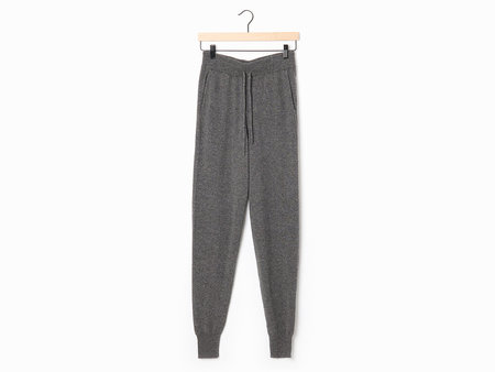 LouLou Studio Maddalena Jogging Pants - Anthracite