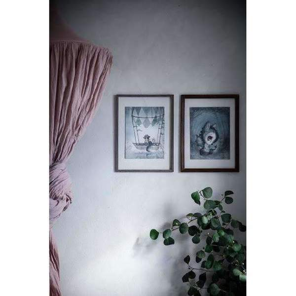 Kids Mrs. Mighetto 2-Pack Mr Tom and the Flying Boat Limited Edition Prints