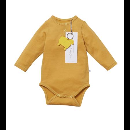 Kids Smalls Aroha Bodysuit - Mustard