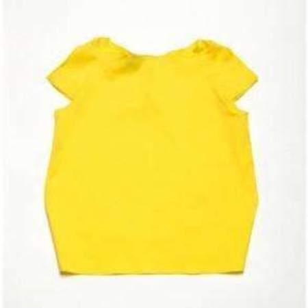 KIDS Leoca Barque Top - yellow