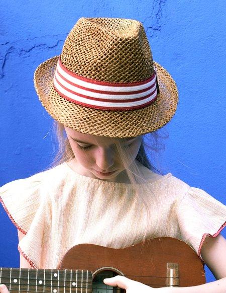 kids Blune Brigitte Hat - Strawberry
