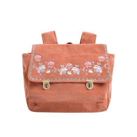 KIDS Louise Misha Chedania Schoolbag - Terracota