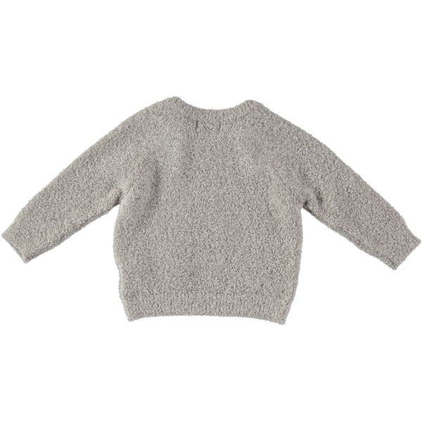 kids Búho Coco Pocket Sweater - Ecru