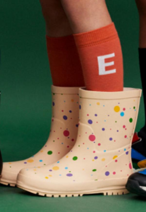 Kids Stella McCartney Dot Rain Boots