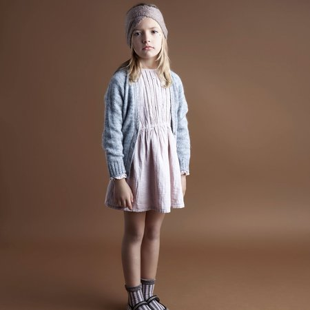 Kids Tocoto Vintage Double Fabric Dress - Pink