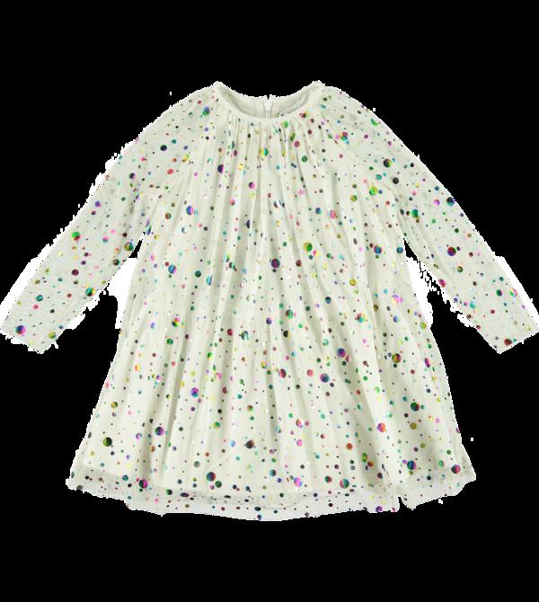 Kids Stella McCartney Foil Dots Tulle Dress