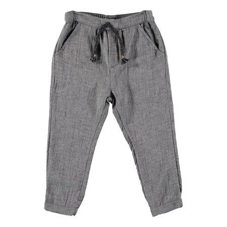 kids Búho Fran Double Face Pant - dark gray