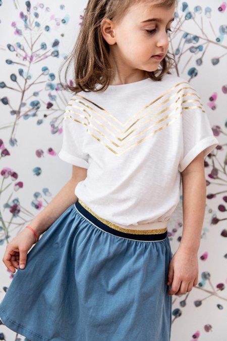 kids Blune Groupie Skirt - Blue