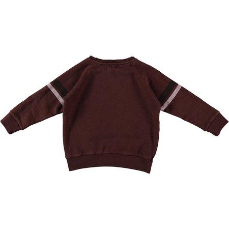 kids Búho Ivan Vintage Washed Sweater - chocolate