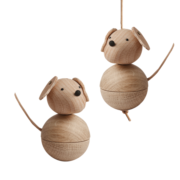 Kids OYOY Leika Dog Wooden Toy