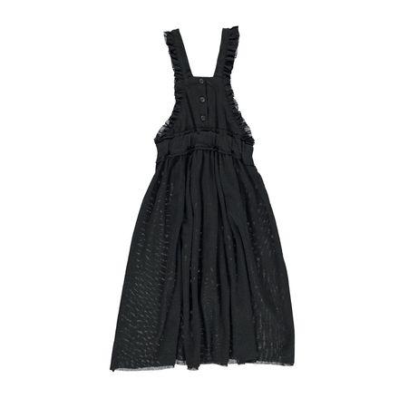 Kids piupiu chick Long Dress - Black