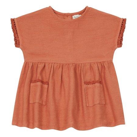 kids Búho Lucia Back Buttoned Dress