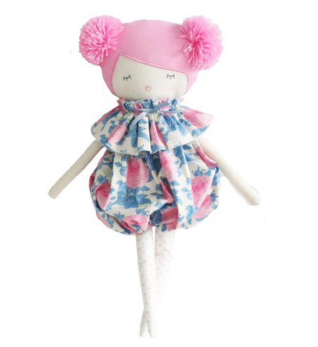 kids Alimrose Meg Romper Doll - Pink Hair