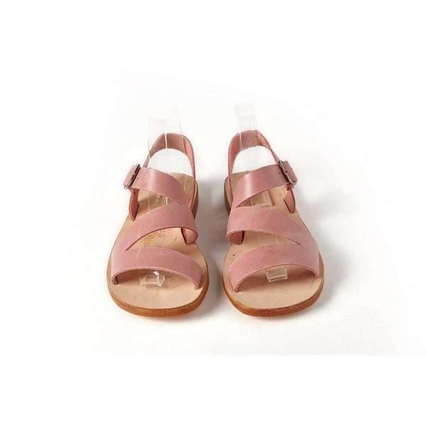 kids Sonatina Milano Leather Sandals - pink