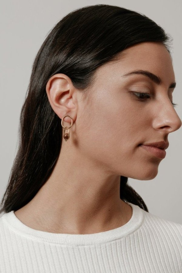 Wolf Circus Michelle Earrings - Gold