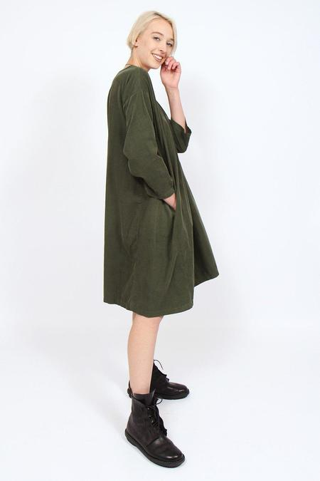 Amici by Baci Corduroy Dress - Olive