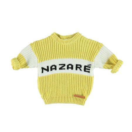 Kids piupiu chick Nazaré Sweater - Yellow